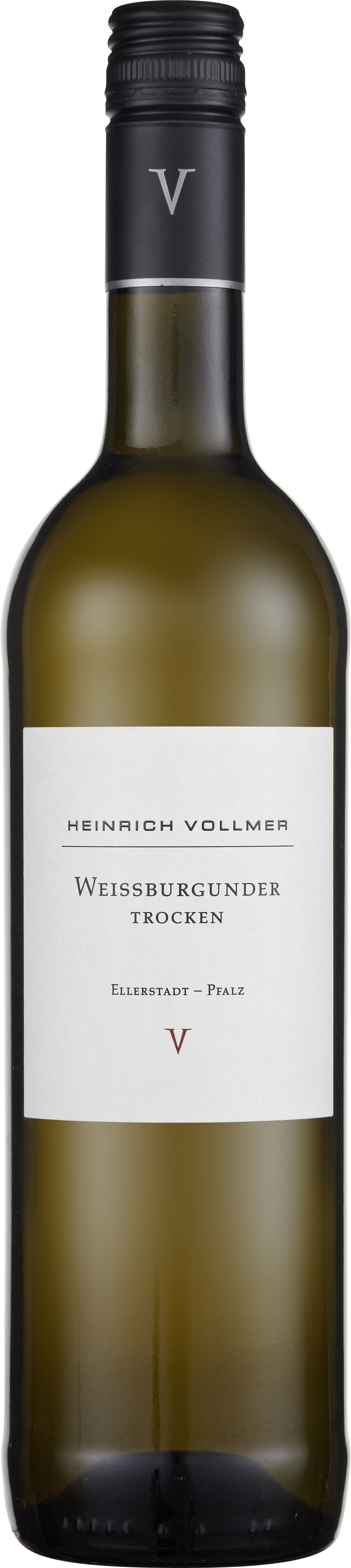 Heinrich Vollmer Weissburgunder trocken 0,75L