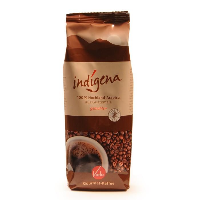 Vorlo indigena Gourmet Kaffee gemahlen 250g